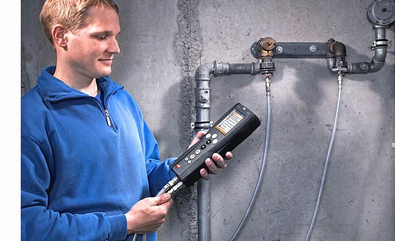 Приборы для контроля герметичности трубопроводов