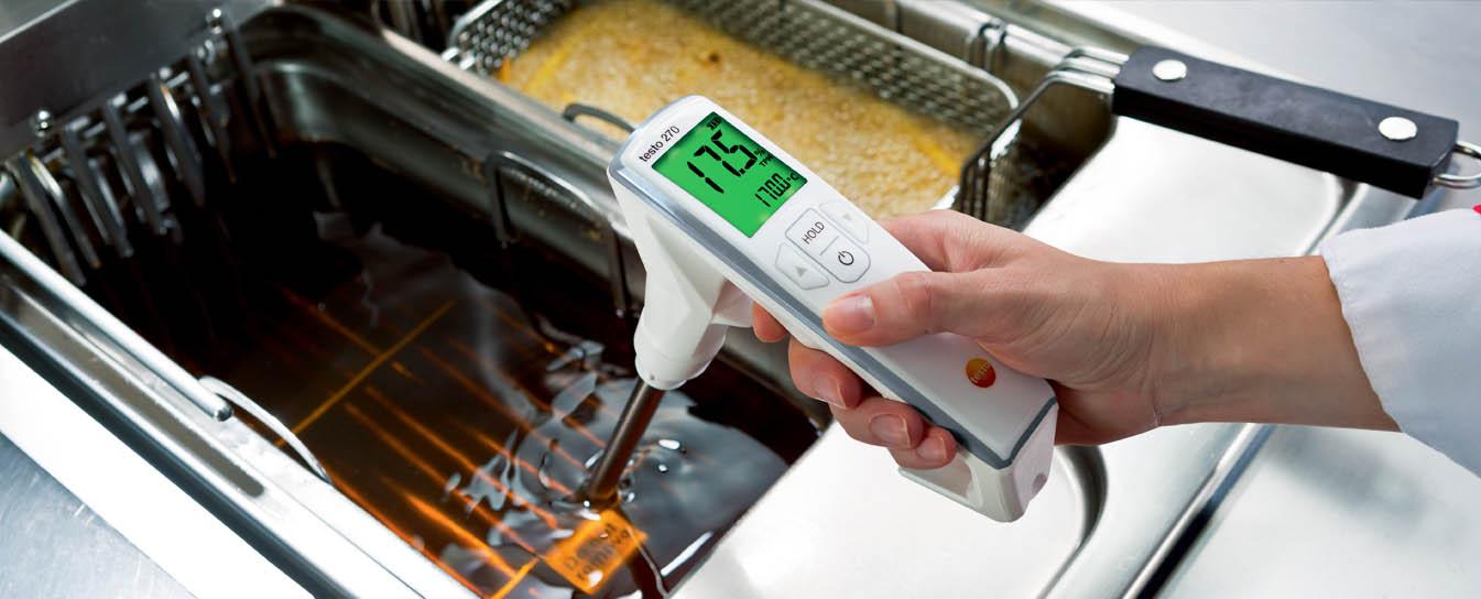 Тестер качества масла для жарки