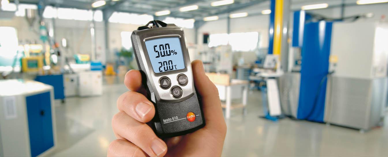 Термогигрометры для экспресс-измерений